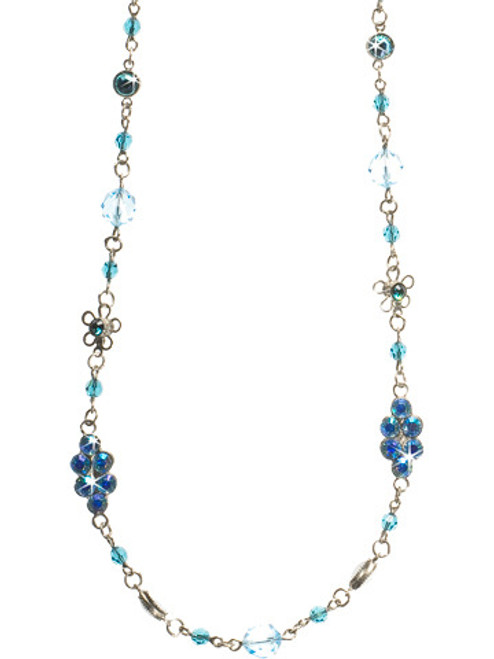 EMERALD COAST CRYSTAL NECKLACE BY Sorrelli NBN122ASECO