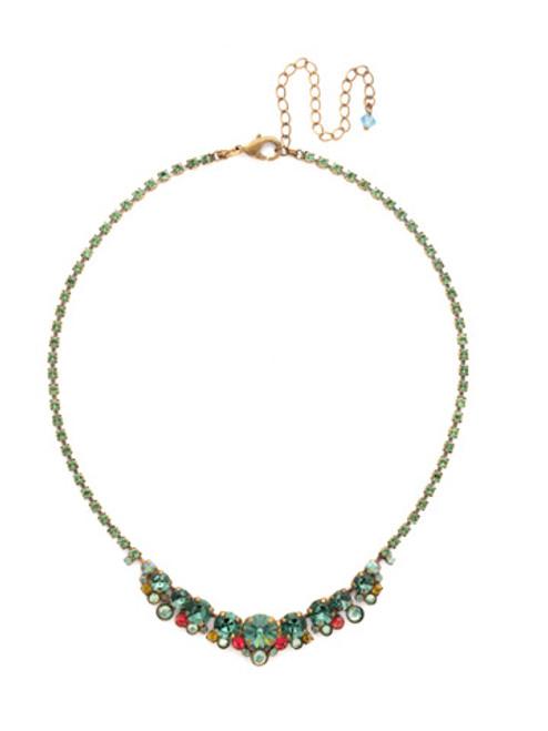 SORRELLI GEM POP Crystal Necklace NCW11AGPOP