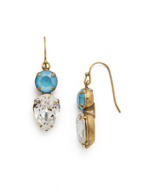 Sorrelli DENIM BLUE Crystal Earring