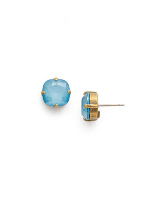 Sorrelli DENIM BLUE Crystal Earring edh25agsmr