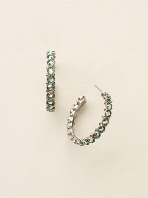 Sorrelli Sea Glass - Heavenly Hoop Earrings~ ECQ24ASSGL