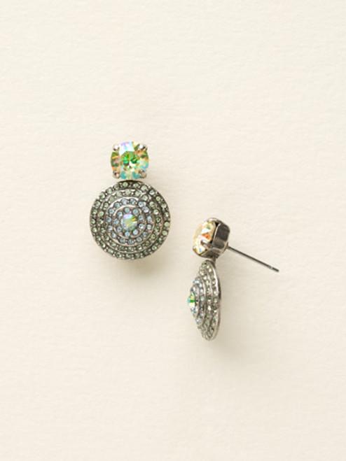 Sorrelli Sea Glass Crystal Earrings ECM16ASSGL