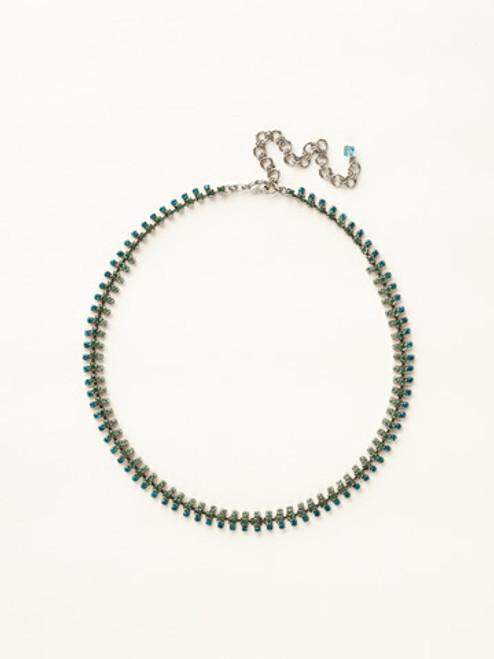Sorrelli Sea Glass Crystal Necklace~NCY5ASSGL