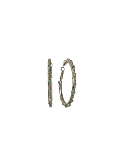 Special Order Sorrelli Aegean Sea Crystal Earrings EBZ4ASAES