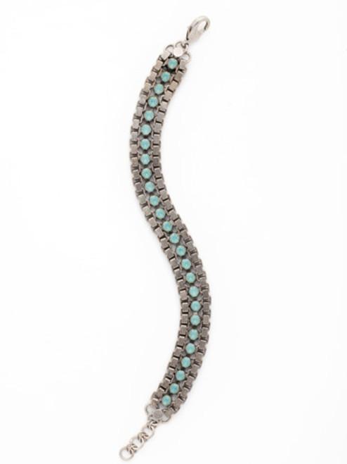 Aegean Sea Crystal Bracelet