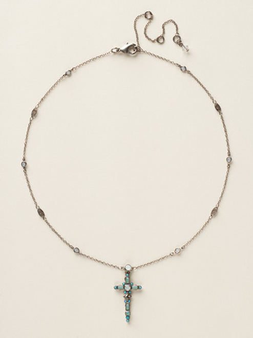 special order sorrelli aegean sea crystal necklace nck22asaes