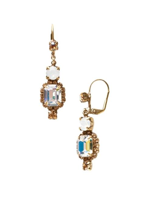 Sorrelli AMARETTO- Classic Drop Earrings~ EBZ47AGAMA