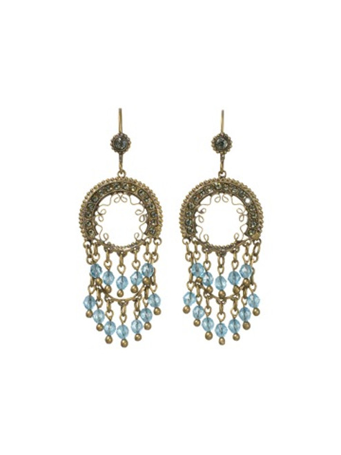 Sorrelli Aqua Bubbles Crystal Earrings ebw5agaqb