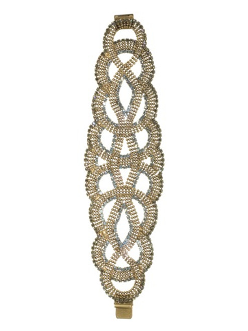 Sorrelli AQUA BUBBLES - Statement Crystal Bracelet~ BBW10AGAQB