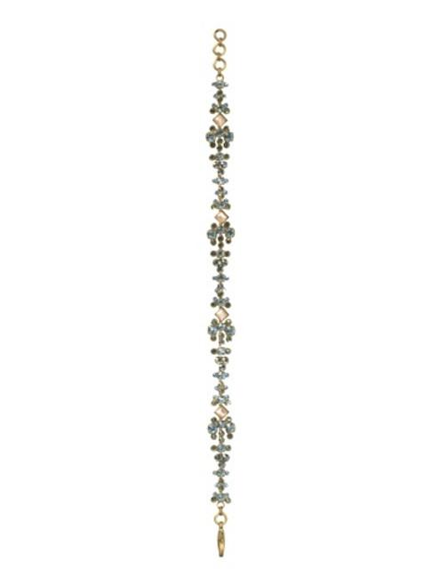 Sorrelli AQUA BUBBLES- Crystal Bracelet~ BBW7AGAQB