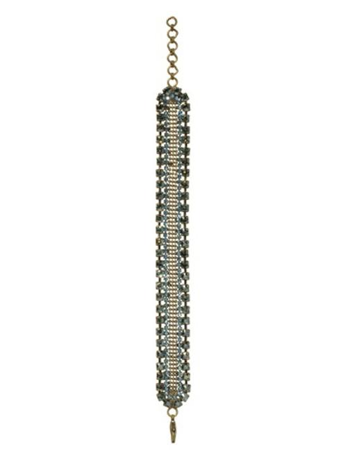 Sorrelli AQUA BUBBLES- Crystal Bracelet~ BBW55AGAQB