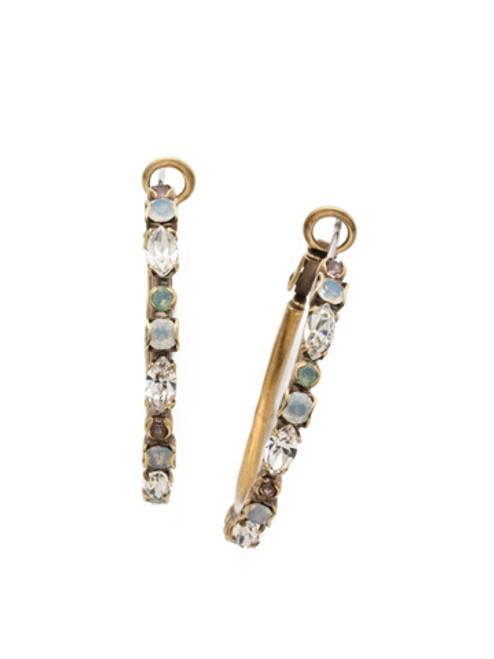 special order sorrelli white magnolia crystal earring edq28agwma