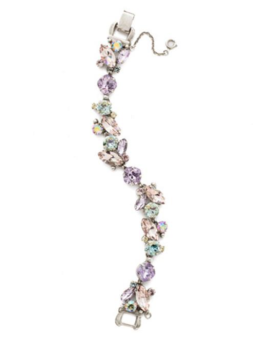 Sorrelli Lilac Pastel Crystal Bracelet bdn51aslpa