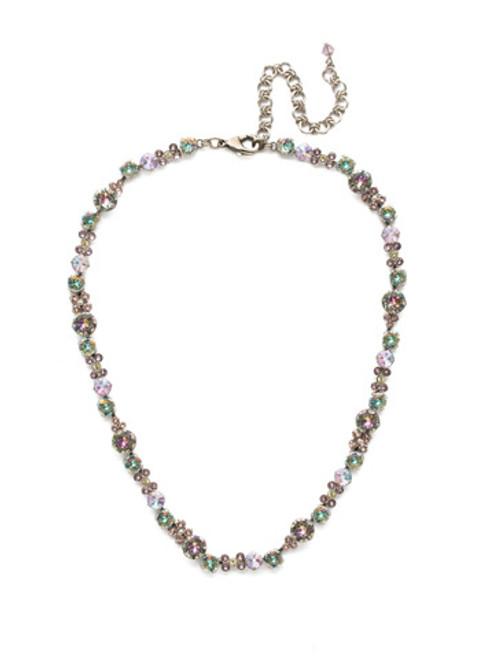 Sorrelli Lilac Pastel Crystal Necklace ndk10aslpa