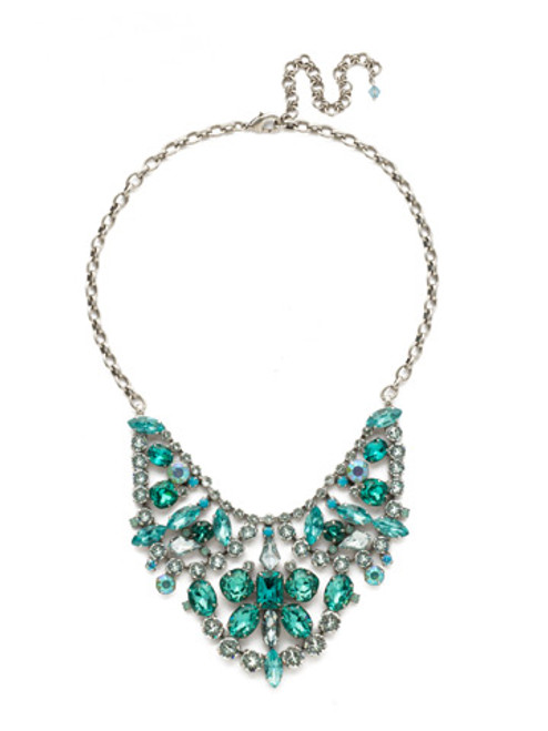Special Order Sorrelli Sweet Mint Crystal Necklace NDU39ASSMN