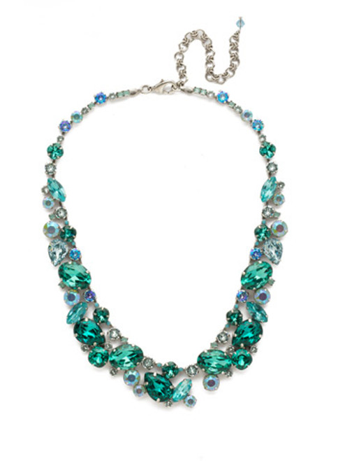 Sorrelli Sweet Mint Crystal Necklace ndu40assmn