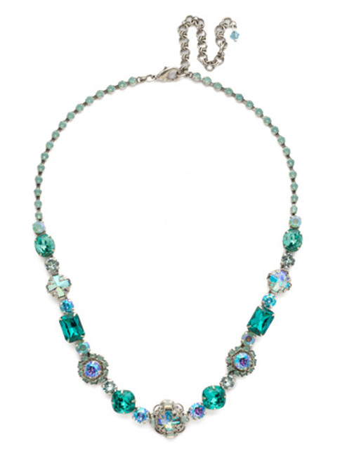 SORRELLI SWEET MINT CRYSTAL NECKLACE NDU18ASSMN