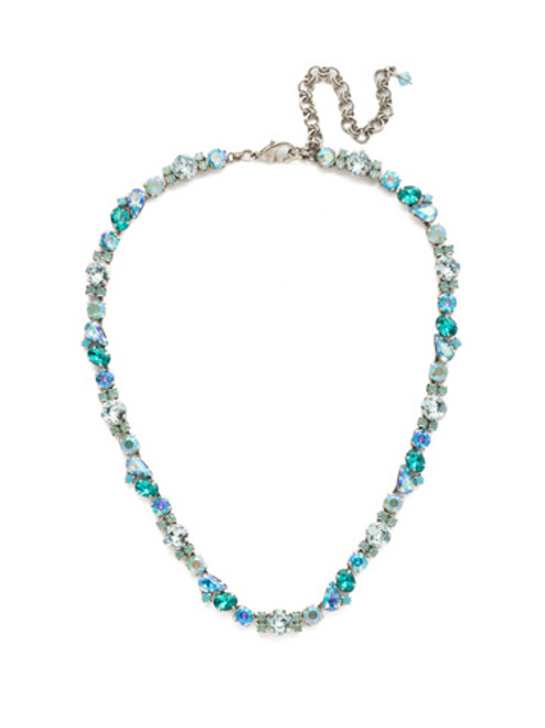 SORRELLI SWEET MINT CRYSTAL NECKLACE NDU5ASSMN