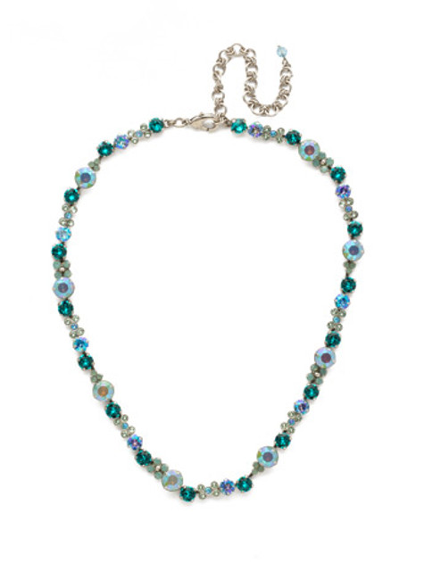 SORRELLI SWEET MINT CRYSTAL NECKLACE -NDK10ASSMN
