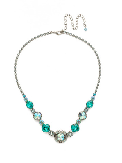 SORRELLI SWEET MINT CRYSTAL NECKLACE NDU17ASSMN