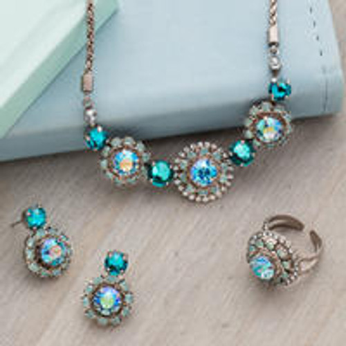 SORRELLI- SWEET MINT CRYSTAL NECKLACE-NDU20ASSMN