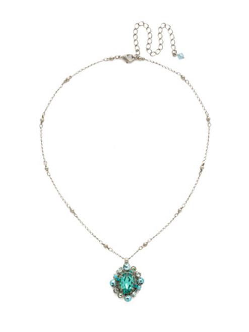 Sorrelli Sweet Mint Crystal Necklace