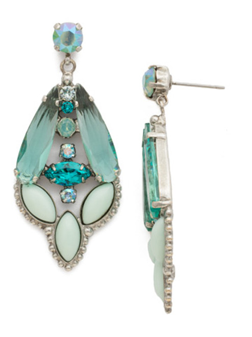 special order sorrelli sweet mint crystal earrings edn97assmn