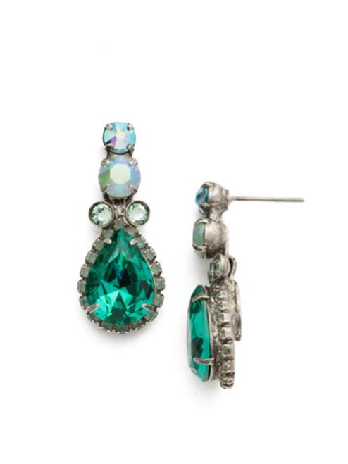 Sweet Mint Crystal Earrings edu15assmn