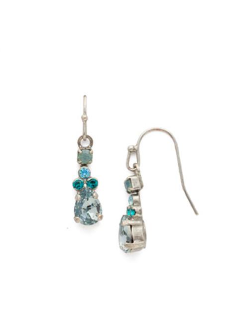 Sweet Mint Crystal Earrings