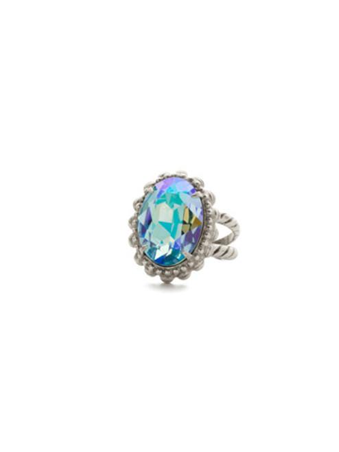 Sorrelli Sweet Mint Crystal Ring ~ RDQ7ASSMN