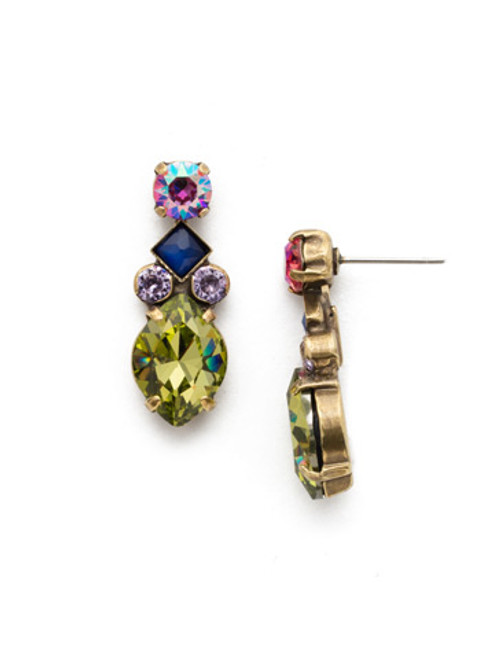 Sorrelli Wildflower Crystal Ring