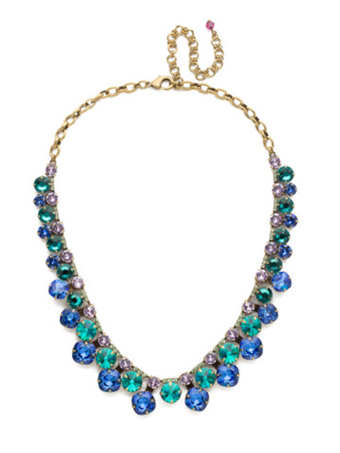 SORRELLI WILDFLOWER CRYSTAL NECKLACE NCT14AGWIL