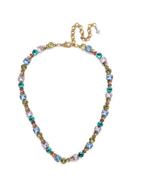 Sorrelli Wildflower Crystal Necklace ndu23agwil