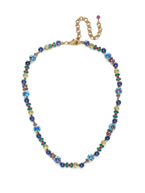 Sorrelli Wildflower Crystal Necklace ndk10agwil