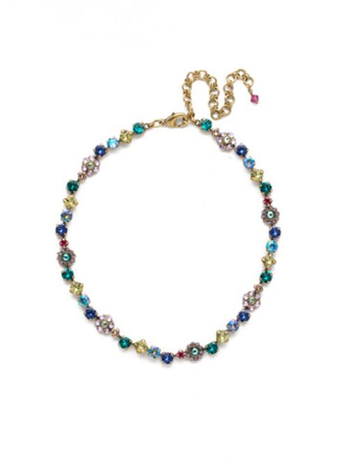 Sorrelli Wildflower Crystal Necklace