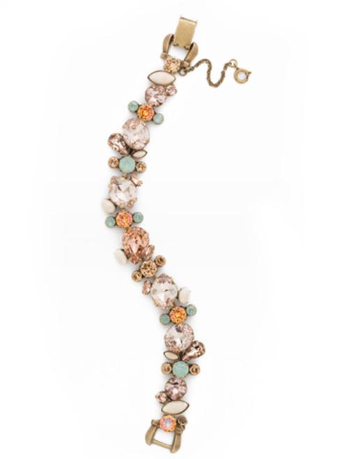 SORRELLI APRICOT AGATE-One of a Kind Crystal Bracelet~ BDK15AGAP