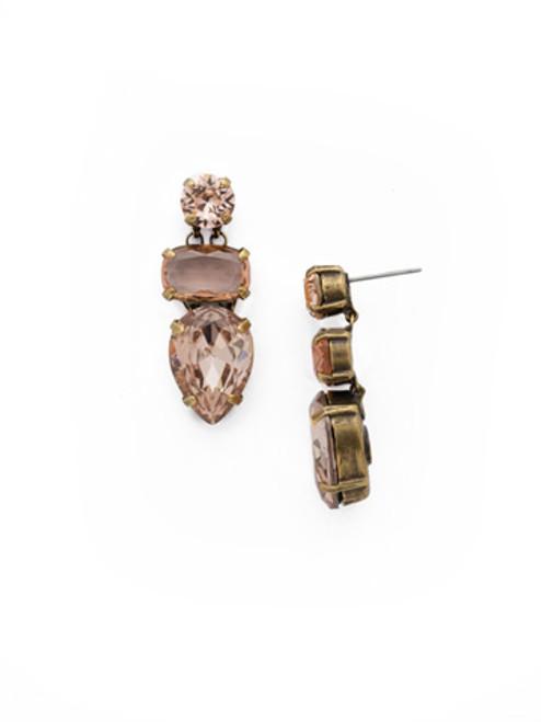 SORRELLI APRICOT AGATE- OOAK Earrings ~ EDH119AGAP