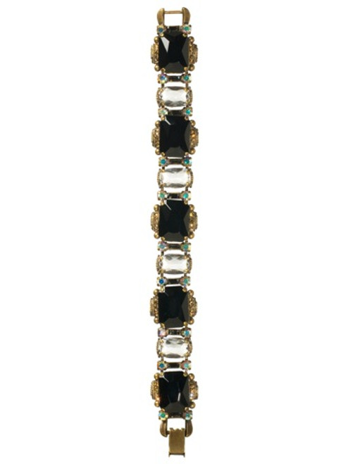 Sorrelli Evening Moon Crystal Bracelet BCK4AGEM