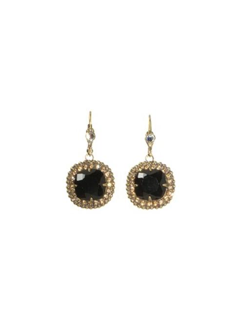 Sorrelli Evening Moon Crystal Earrings~ECB20AGEM