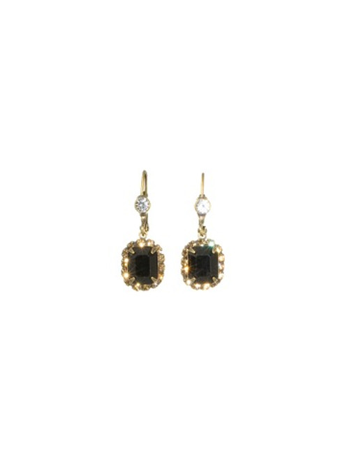 Sorrelli Evening Moon Crystal Earrings~EBU42AGEM