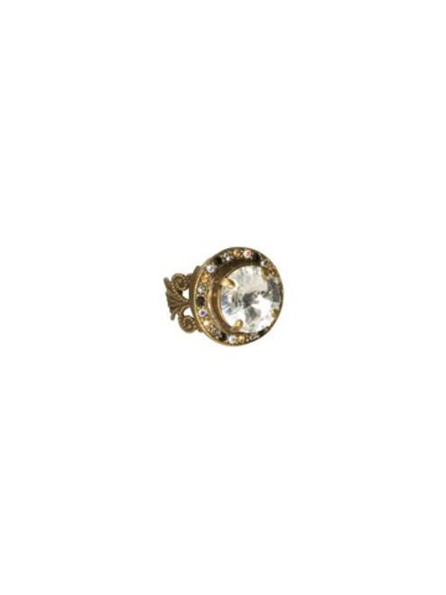 Sorrelli Evening Moon Crystal Ring~RCM5AGEM