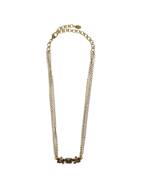 special order sorrelli city neutral crystal necklace nce31agcn