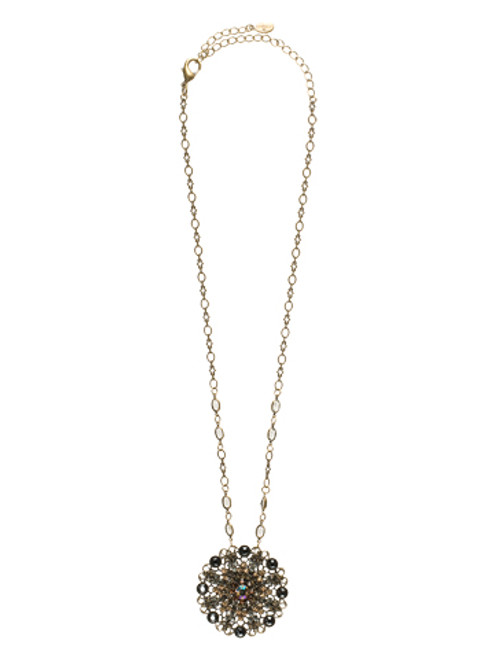 **SPECIAL ORDER**Sorrelli City Neutral  Crystal Necklace~NBP35AGCN