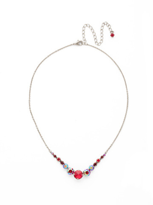 CRANBERRY Crystal Necklace by Sorrelli~NCQ14ASCB
