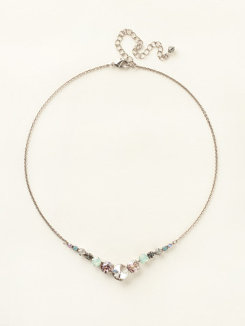 **SPECIAL ORDER**CRYSTAL MOSS NECKLACE BY SORRELLI~NCQ14ASCRM