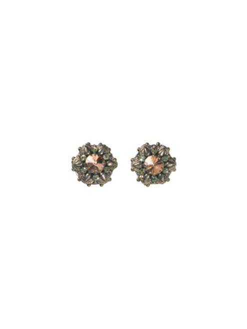 Sorrelli Cup Cake Crystal Earrings