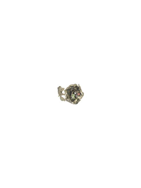 Sorrelli Cup Cake Crystal Ring Front