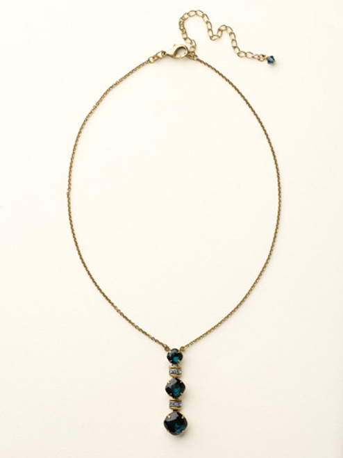 Blues Crystal Necklace