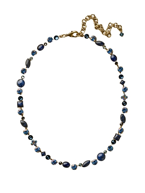 DRESS BLUES CRYSTAL NECKLACE BY SORRELLI~NAQ3AGDBL