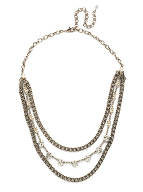 LEMON ZEST CRYSTAL NECKLACE BY SORRELLI NDU63ASLZ